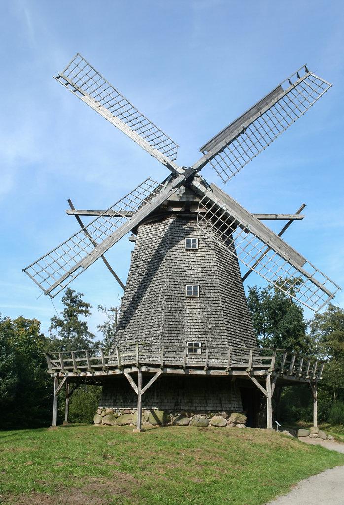 Kappenwindmühle aus Bokel